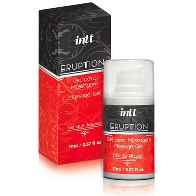 Eruption - Super Gel De Pulsação Vaginal - Sex Shop Maçã de Eva