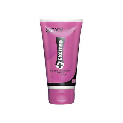 Gel Excitante Feminino Excited Sexy Hot - Sex Shop Maçã de Eva