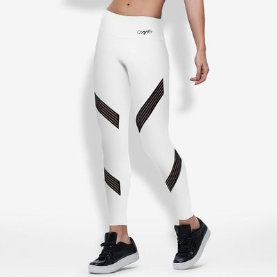 Legging Fitness Oxyfit Hollywood - Moda Fitness Maçã de Eva