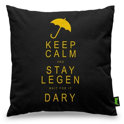 Almofada Legen wait for it Dary Legendary - 40 x 40 cm - Loja Geek Maçã de Eva