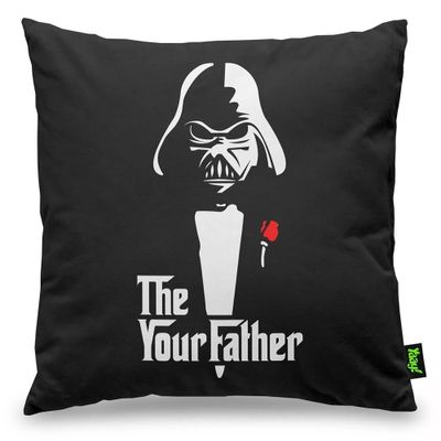Almofada Geek Side - The Your Father - 40 x 40 cm - Loja Geek Maçã de Eva