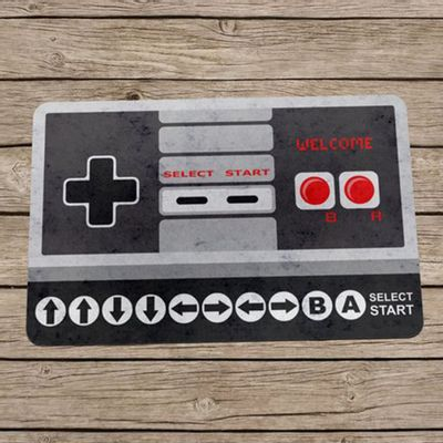 Capacho Eco Slim 3mm Gamer Cheat Code 8-bits - 60x40cm - Loja Geek Maçã de Eva