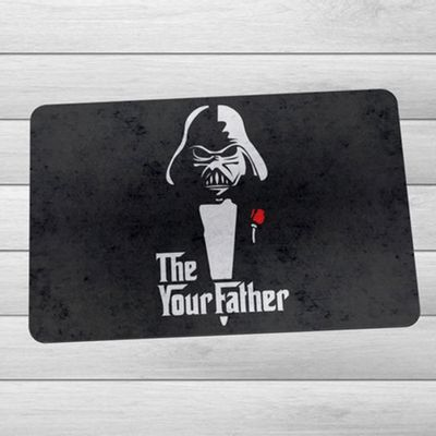 Capacho Eco Slim 3mm Geek Side - The Your Father - 60x40cm - Loja Geek Maçã de Eva