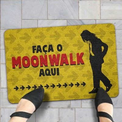 Capacho Eco Slim 3mm Moonwalk - 60x40cm