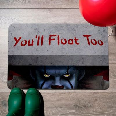 Capacho Eco Slim 3mm You'll Float Too - 60x40cm - Loja Geek Maçã de Eva
