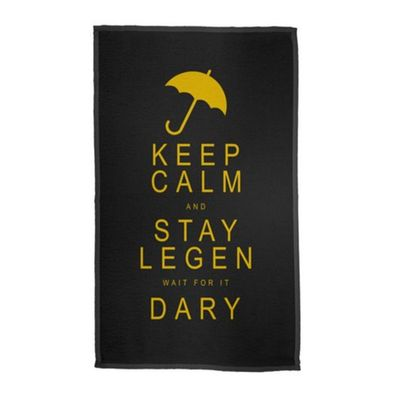 Pano Decorativo Multiuso Legen wait for it Dary Legendary 30 x 50cm - Loja Geek Maçã de Eva