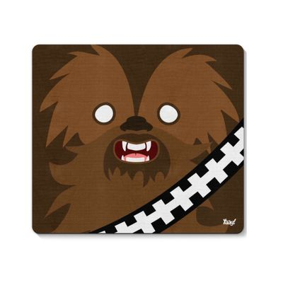 Mouse pad Geek Side Faces - Bacca - Loja Geek Maça de Eva