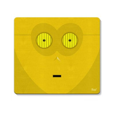Mouse pad Geek Side Faces - C3 - Loja Geek Maça de Eva