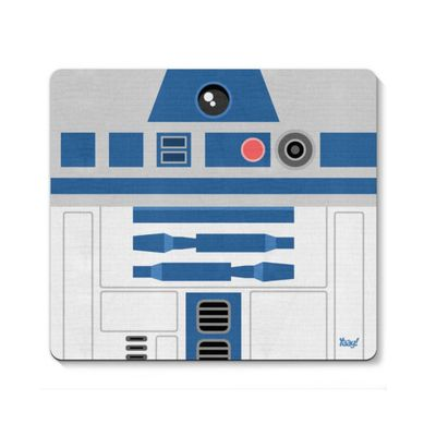 Mouse pad Geek Side Faces - R2 - Loja Geek Maça de Eva
