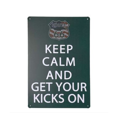 placa-de-metal-keep-calm-and-get-your-kicks-on-30-x-20-cm